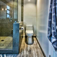 Contemporary Bathroom by SOD BUILDERS, INC.
