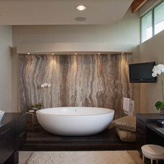 contemporary bathroom by Enclosures Architects