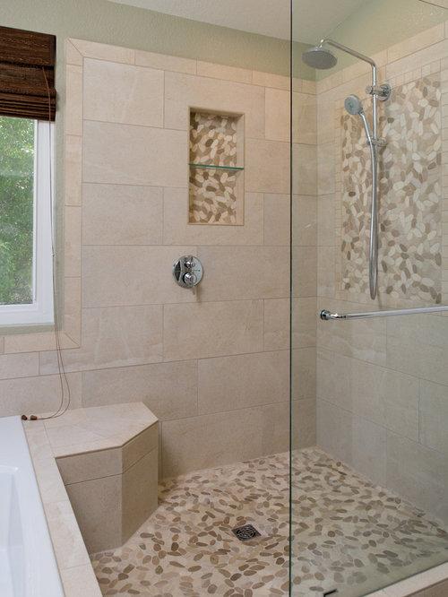 Retrofit Bathroom Design Ideas Renovations Photos With An Open Shower
