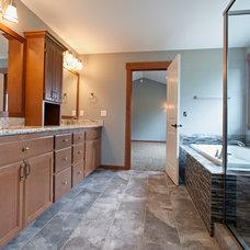 Craftsman Bathroom by Great Northwest Homes