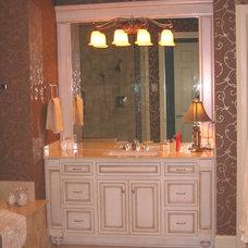Traditional Bathroom by Sarah Pryor of Etown Kitchens + Baths