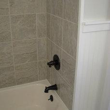 Traditional Bathroom by Gettin Hammered Handyman Service