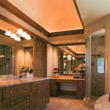 Traditional Bathroom by Louie Leu Architect, Inc.