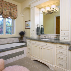 Traditional Bathroom by Culbertson Durst Interiors