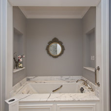 Farmhouse Bathroom by Conrado - Home Builders