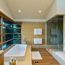 Contemporary Bathroom by Conrado - Home Builders
