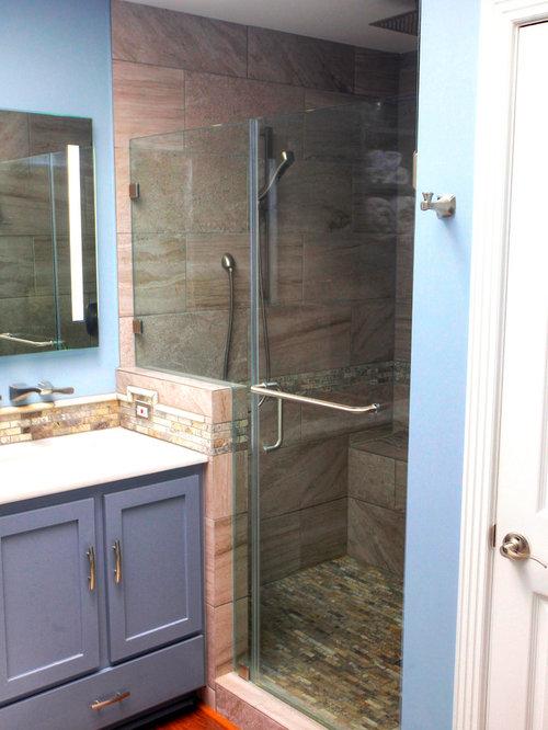 Bathroom Design Ideas, Remodels & Photos with Quartzite ...