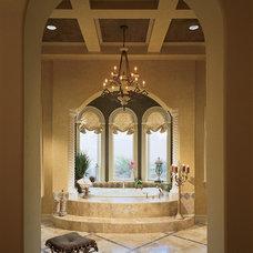 Mediterranean Bathroom by Sater Design Collection, Inc.