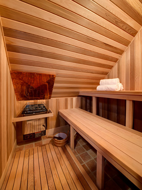 best rustic sauna design ideas remodel pictures houzz - Sauna Design Ideas