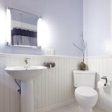 Contemporary Bathroom by Design Build Specialists Inc