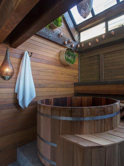 asiatische badezimmer design ideen beispiele f r die badgestaltung houzz. Black Bedroom Furniture Sets. Home Design Ideas
