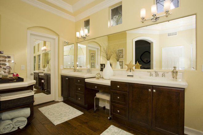 Transitional Bathroom by Savvy Interiors