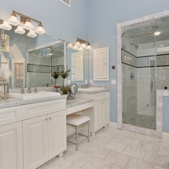 traditional bathroom by Savvy Interiors