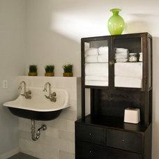 Modern Bathroom by Nicholas Design Collaborative