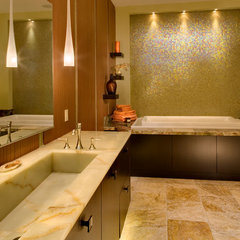 contemporary bathroom by Sazama Design Build Remodel