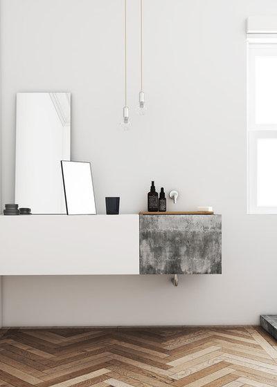 Scandinavo Stanza da Bagno Scandinavian Bathroom