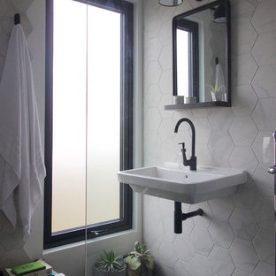 75 Most Popular Bathroom With Black And White Tiles Design Ideas For