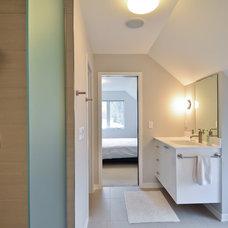 Contemporary Bathroom by REFINED LLC