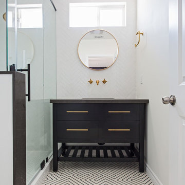 Scandinavian delight, bathroom remodel in Burbank, CA