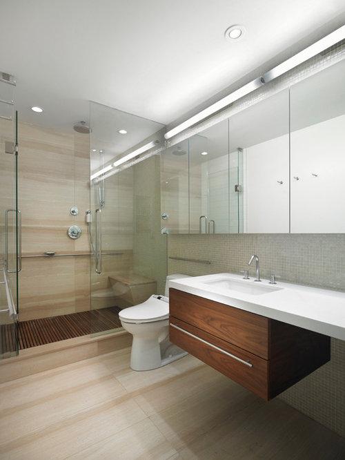teak shower grate