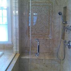 Traditional Bathroom by Jacobson Bradlow Interior Designs