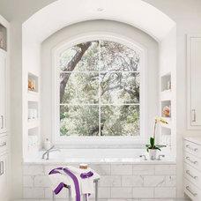 Mediterranean Bathroom by Ryan Street & Associates