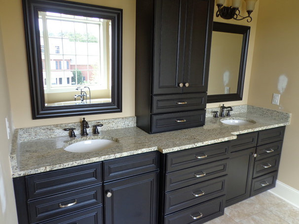 Traditional Bathroom by Knoxville's Stone Interiors