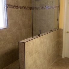 Modern Bathroom by Tile & Stone By Design, LLC
