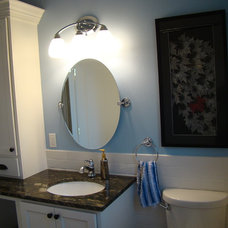 Traditional Bathroom by Mise en Place Design