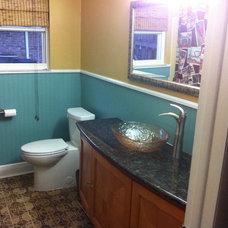 Eclectic Bathroom Schnoering Guest Bath