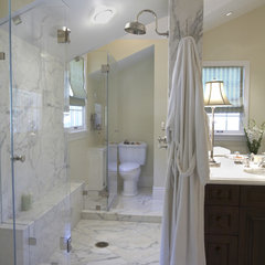 traditional bathroom by Mahoney Architects and Interiors