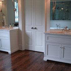 Eclectic Bathroom by Hardwood Creations