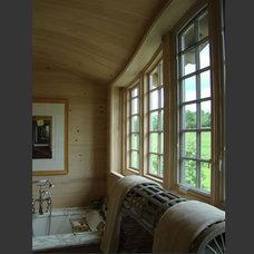Traditional Bathroom by Scott Cornelius Architect