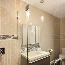 Contemporary Bathroom by Heather Cleveland Design