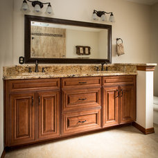 traditional bathroom by Zelmar Kitchen Designs & More, LLC