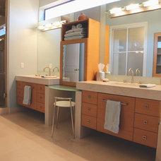 Contemporary Bathroom by ModaScapes Interior Design