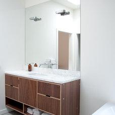 Modern Bathroom by Kerf Design