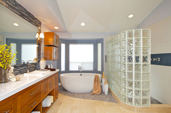 Contemporary Bathroom by Marrokal Design & Remodeling