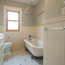Traditional Bathroom by Encircle Design and Build