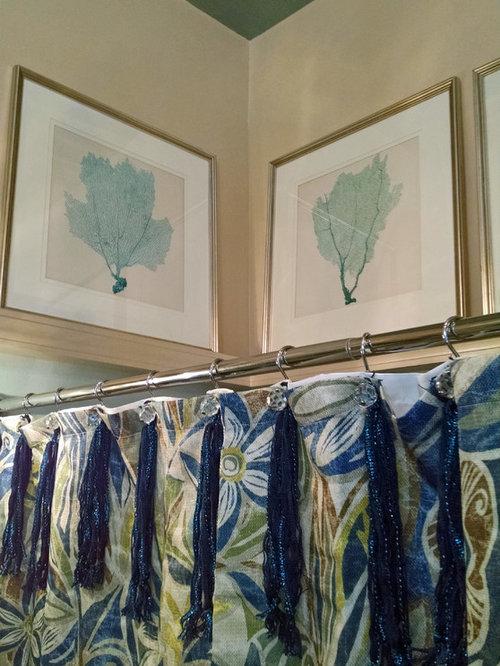 Salles de bains et wc bord de mer art ledge photos et for Christine huve interior designs