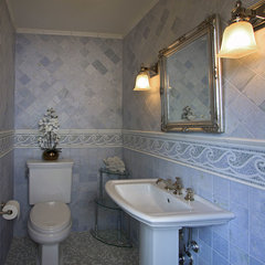 traditional bathroom by A. Rejeanne Interiors