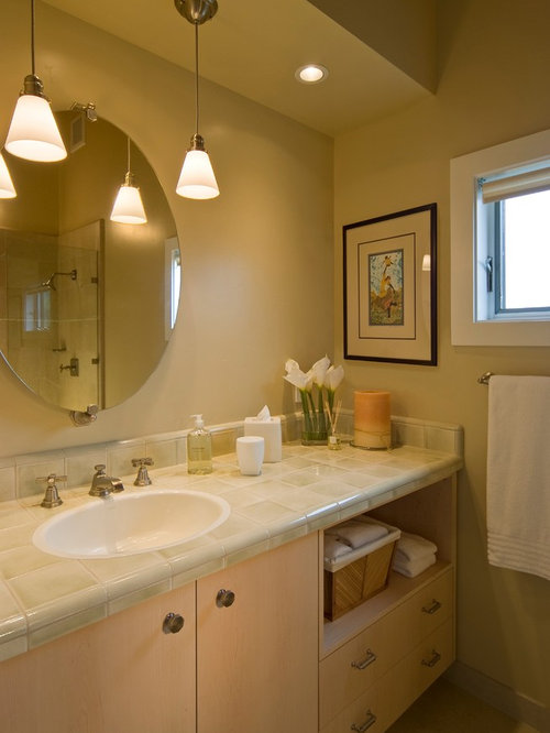 Beautiful Bathroom Lighting Over Vanity