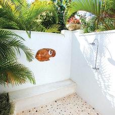 Tropical Bathroom by REAL LIFE Caribbean