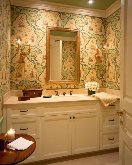 Traditional Bathroom by Kendall Wilkinson Design