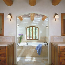 Traditional Bathroom by Archaeo Architects