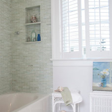 Beach Style Bathroom by Judy Cook Interiors, LLC
