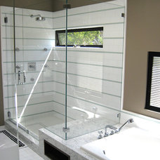Contemporary Bathroom by Rich Mathers Construction, Inc.