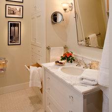 Traditional Bathroom by Sandra Bird Designs