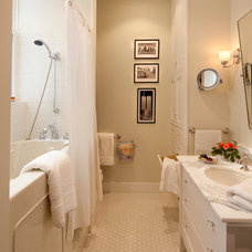 Traditional Bathroom by Sandra Bird Designs