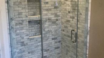 Seamless Shower Door